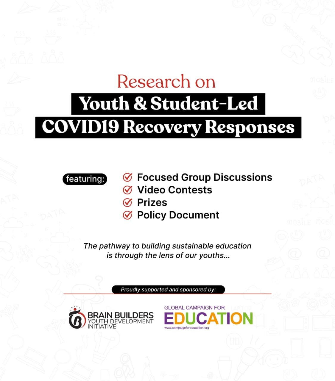 You are currently viewing Research on Youth and Students-Led COVID-19 Recovery Responses